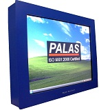 Palas Single Touch Screen Computer with flange, Touchscreen Computer with flange, India