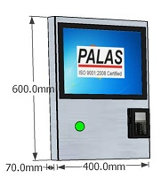 Palas Self Order Kiosk, Self order touch kiosk, india